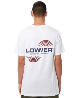 WHITE OUTLET MENS LOWER TEES - LO18Q3MTS03WHT