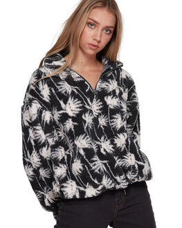 BLACK WOMENS CLOTHING BILLABONG JUMPERS - BB-6507749-BLK