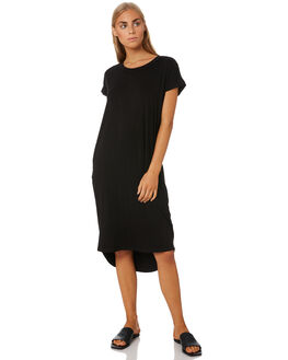 BLACK WOMENS CLOTHING BETTY BASICS DRESSES - BB532T20BLK