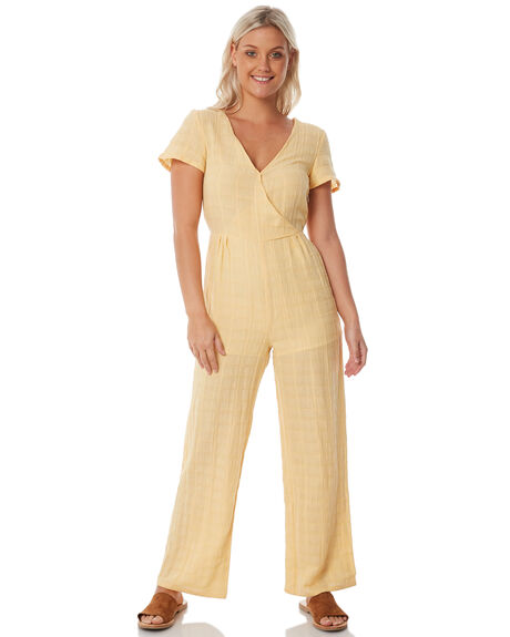 MUSTARD WOMENS CLOTHING THE HIDDEN WAY PLAYSUITS + OVERALLS - H8183447MSTRD