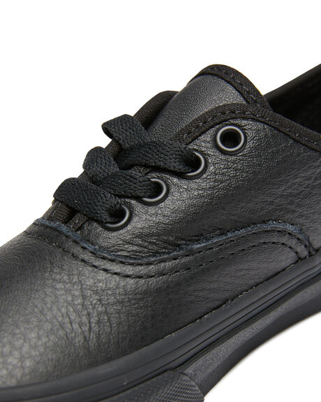 BLACK KIDS BOYS VANS SNEAKERS - VN0A3UIVX0SBLK