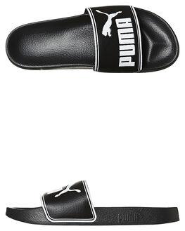BLACK MENS FOOTWEAR PUMA SLIDES - SS36026-301M