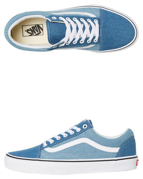 BLUE MENS FOOTWEAR VANS SKATE SHOES - SSVNA38G1Q69BLUM