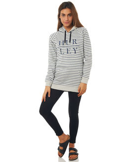 BLACK WOMENS CLOTHING HURLEY JUMPERS - AGFLMOD805A