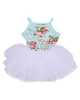 MINT KIDS TODDLER GIRLS ROCK YOUR BABY DRESSES - TGD1733MTN