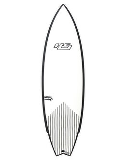 WHITE BLACK SURF SURFBOARDS HAYDENSHAPES MID LENGTH - HSUNTITLEDFFSTWHTBK