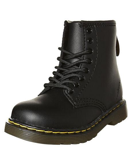 BLACK KIDS BOYS DR. MARTENS FOOTWEAR - SS15373001BLKT