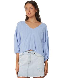 BLUE DAWN WOMENS CLOTHING RUSTY FASHION TOPS - SCL0298-BDW