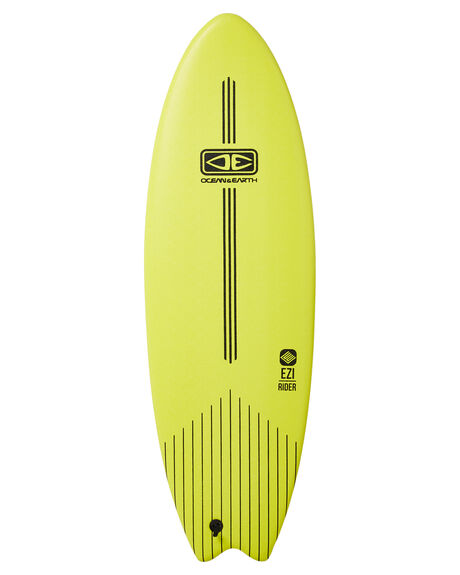 LIME BOARDSPORTS SURF OCEAN AND EARTH SOFTBOARDS - SESO56LME