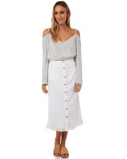 MINERAL GREEN WOMENS CLOTHING BILLABONG FASHION TOPS - 6585091MGRN
