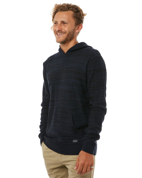 NAVY MENS CLOTHING RIP CURL KNITS + CARDIGANS - CSWDP10049