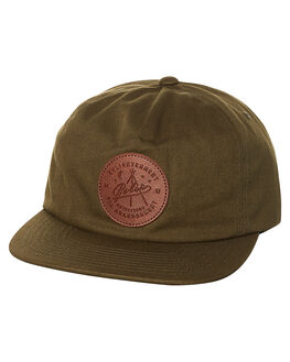 OLIVE MENS ACCESSORIES POLER HEADWEAR - 715030OLV