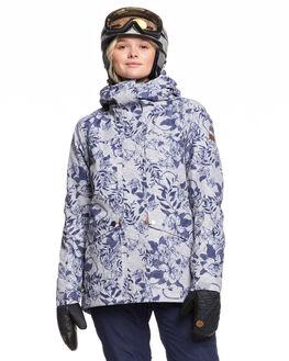 HEATHER GREY FLOWER BOARDSPORTS SNOW ROXY WOMENS - ERJTJ03239-SJE1