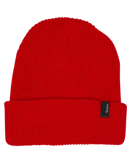 RED MENS ACCESSORIES BRIXTON HEADWEAR - 00008RED