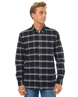 BLACK MENS CLOTHING SWELL SHIRTS - S5171166BLK