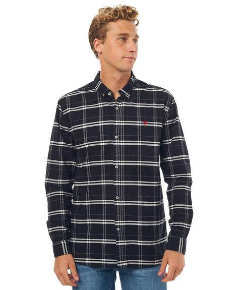 BLACK MENS CLOTHING SWELL SHIRTS - S5171166BLK