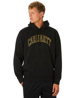 BLACK YELLOW MENS CLOTHING CARHARTT JUMPERS - I02626889