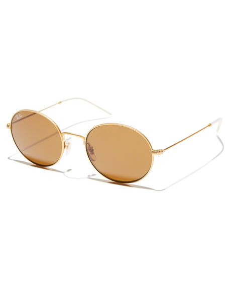 GOLD RUBBER MENS ACCESSORIES RAY-BAN SUNGLASSES - 0RB3594GLDR