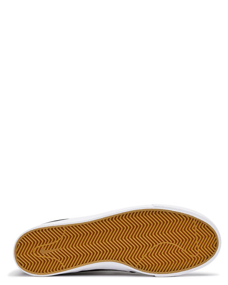 BLACK WHITE MENS FOOTWEAR NIKE SKATE SHOES - SSAR7718-001M
