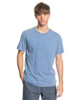 STONE WASH MENS CLOTHING QUIKSILVER TEES - EQYKT03968-BKJ0