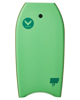 GREEN GREY BOARDSPORTS SURF HYDRO BODYBOARDS - ZB18-HYD-GRNGR