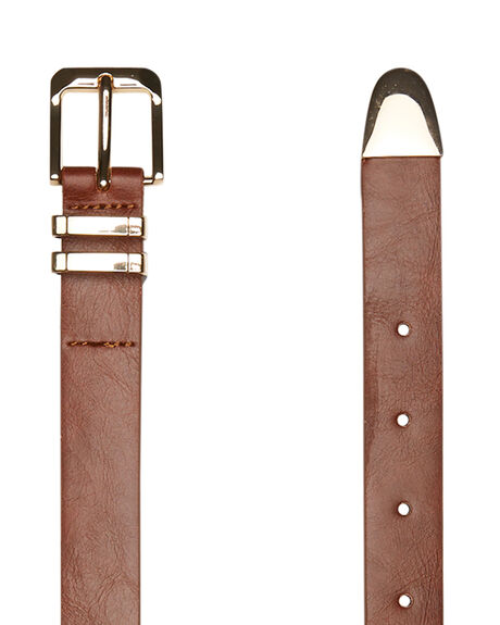 TAN WOMENS ACCESSORIES RUSTY BELTS - BEL0426TAN