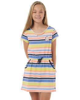 STRIPE KIDS GIRLS EVES SISTER DRESSES - 9900068STR