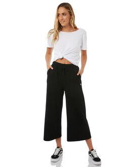BLACK WOMENS CLOTHING STUSSY PANTS - ST185600BLK