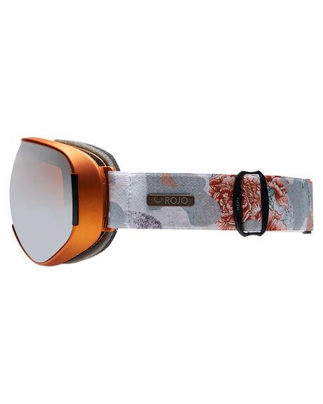 FLORAL CAMO GREY BOARDSPORTS SNOW ROJO GOGGLES - W19RWAE7289GGR