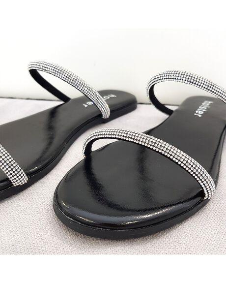 BLACK WOMENS FOOTWEAR HOLSTER FASHION SANDALS - HST370BL5