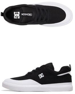 BLACK/WHITE MENS FOOTWEAR DC SHOES SNEAKERS - ADYS100526-BKW