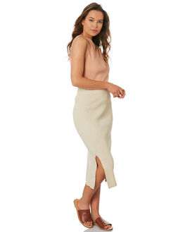 GOLD LUREX WOMENS CLOTHING ZULU AND ZEPHYR SKIRTS - ZZ2749GOLD
