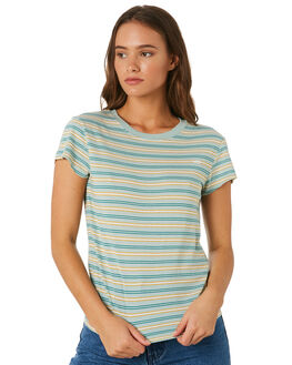 IVY STRIPE WOMENS CLOTHING LEE TEES - L-651754-KQ7