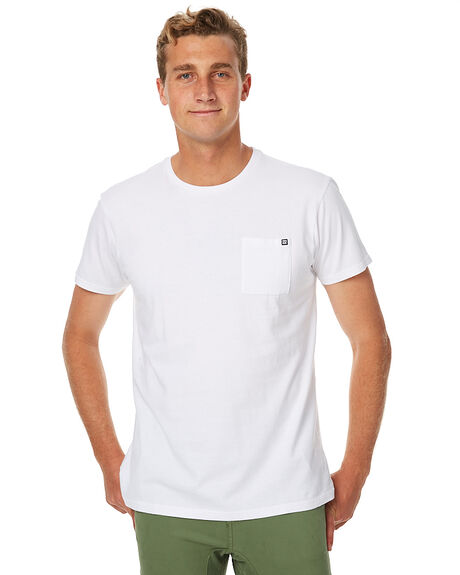 2c25a4d0ecc Billabong Premium Mens Pocket Tee - White