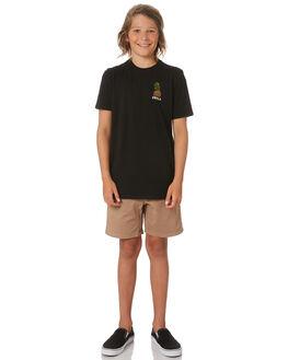 BLACK KIDS BOYS SWELL TOPS - S3203006BLACK