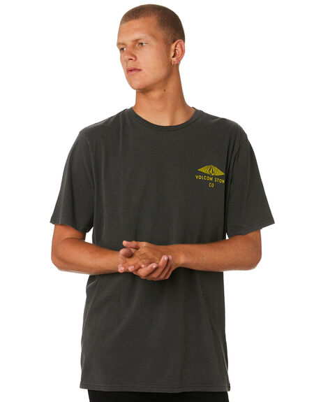 BLACK MENS CLOTHING VOLCOM TEES - A5241873BLK