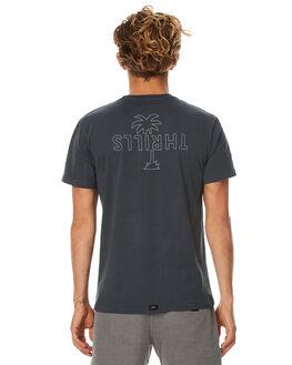 PHANTOM MENS CLOTHING THRILLS TEES - TS7-138BPHNTM