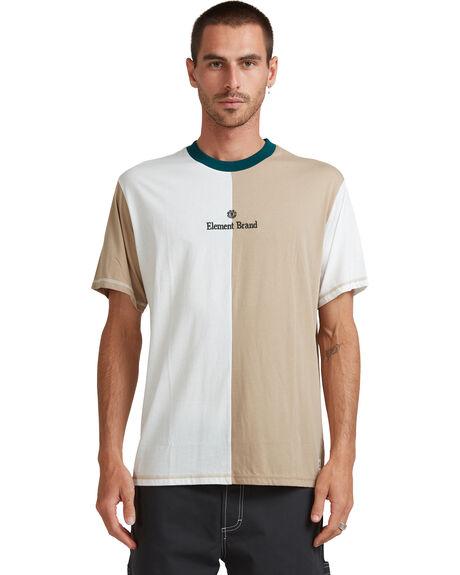 DESERT KHAKI MENS CLOTHING ELEMENT TEES - EL-117010-DSK