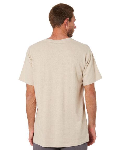 BEIGE FOG MENS CLOTHING RUSTY TEES - TTM2486BEF