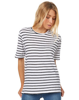 MALA STRIPE WOMENS CLOTHING ASSEMBLY TEES - AW-W21703MALS
