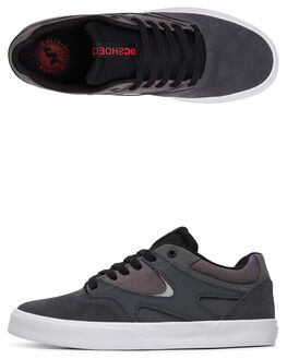 GREY/BLACK/RED MENS FOOTWEAR DC SHOES SNEAKERS - ADYS300569-XSKR