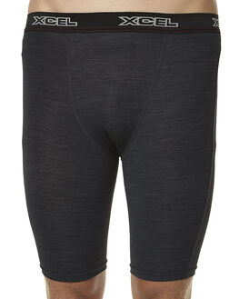 HEATHERED BLACK SURF WETSUITS XCEL WETSUIT BOTTOMS - MLM43115HBK