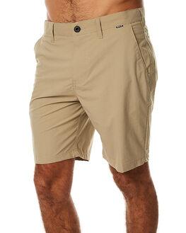 KHAKI MENS CLOTHING HURLEY SHORTS - MWS000376026B