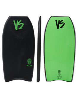 BLACK GREEN SURF BODYBOARDS VS BODYBOARDS BOARDS - V18IKON43GRBLKGR