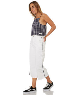 BRIGHT WHITE WOMENS CLOTHING ELEMENT PANTS - 283243BHW