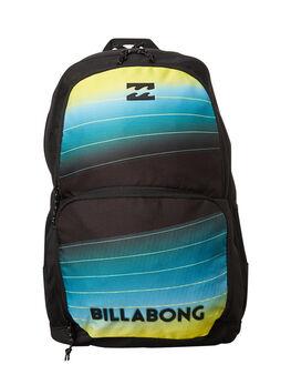 BLACK LIME MENS ACCESSORIES BILLABONG BAGS - 9671006BKLI
