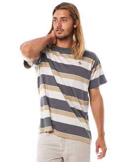 SANDMAN STRIPE MENS CLOTHING THRILLS TEES - TH8-137CZSSTRP