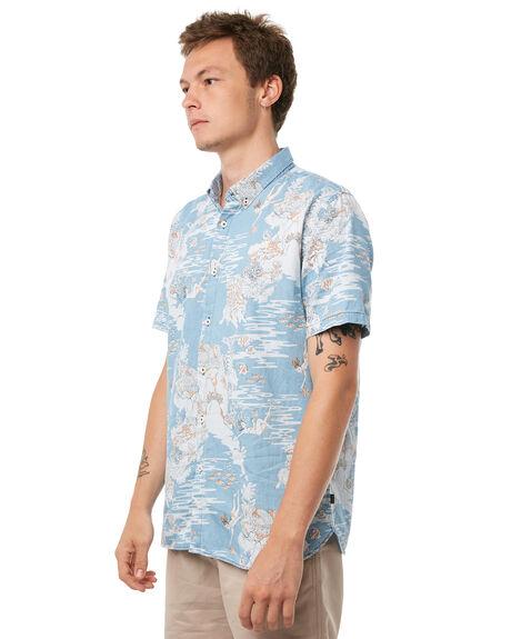 INDIGO MENS CLOTHING BARNEY COOLS SHIRTS - 301-CR1IND