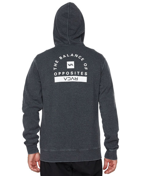 BLACK MENS CLOTHING RVCA JUMPERS - RV-R393160-BLK