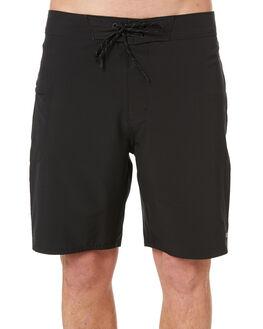 BRIGHT BLACK MENS CLOTHING OUTERKNOWN BOARDSHORTS - 1810025BBK